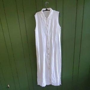 The White House linen dress